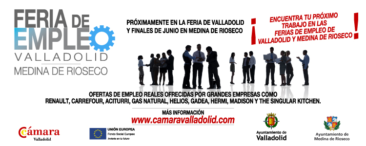 Feria de empleo de valladolid c mara valladolid for Oficinas de empleo valladolid