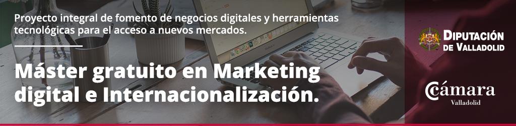 Master Negocios digitales Diputación de Valladolid 2016