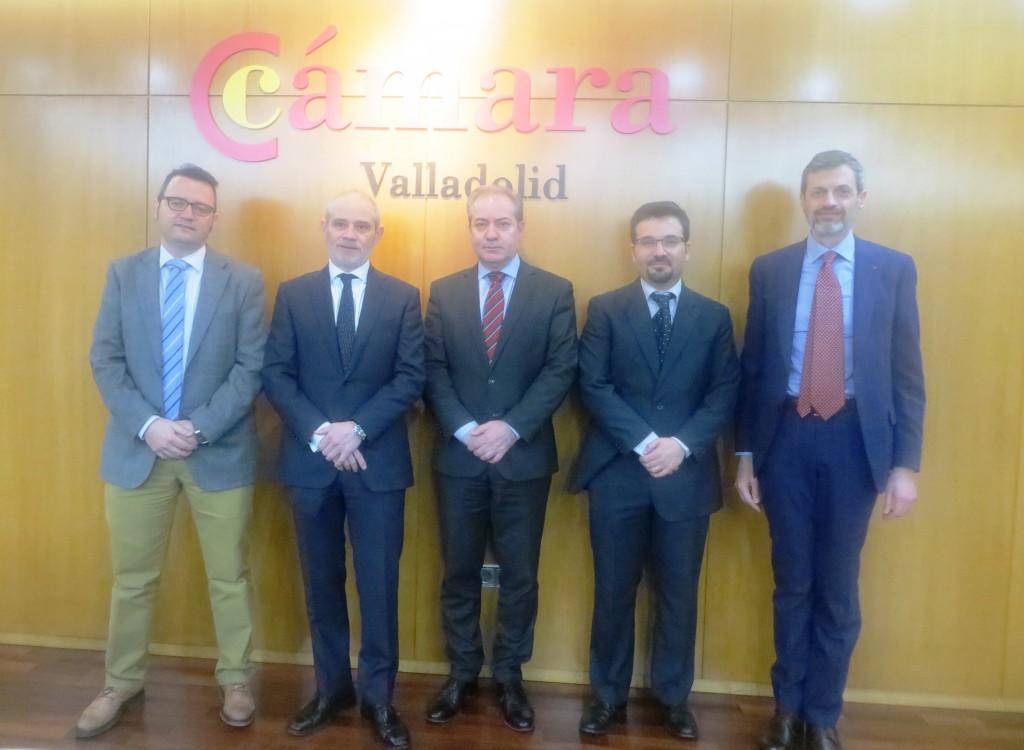 Alejandro Galán, Víctor Caramanzana, Agustín Sigüenza, Marco Scerbo y Giovanni Liberatore