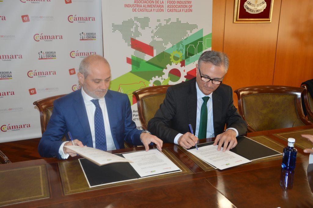 Vitartis y la c mara de comercio de valladolid firman un convenio para el impulso de la - Curso cocina sabadell ...